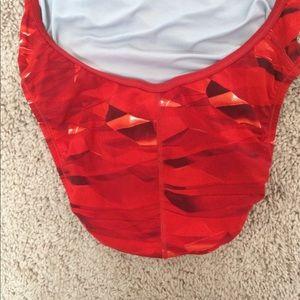 Speedo Swim - Speedo red cross back swimsuit size 30